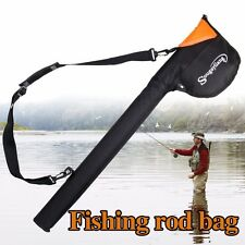 Fly Fishing Rod Bag Tube Rod Storage Case for 9ft Fly Rod and Reel Combo Kits