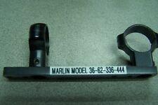 tasco Wc 1 inch Steel scope medium rings & steel base marlin 36-62 336-444 l