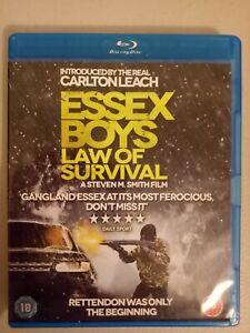 essex boys Law of survival Blu-ray movie region free