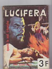 Lucifera  17 BD Adulte Elvifrance 1973  petit format