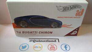 Hot Wheels ID '16 Bugatti Chiron (Cart)