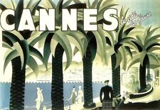 Art Print  Cannes   Travel Poster