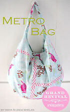 Darling Metro Day Bag Pattern chic & ShabbyTote Purse