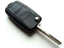 Seat Alhambra Altea 2 Tasten Flip Fernbedienung Anhänger Schlüssel Hülle+