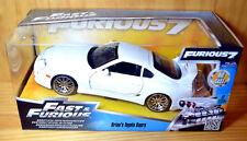 1:24 Jada Fast & Furious Toyota Supra JZA80 [White] - NEW/Sealed MIB XHTF