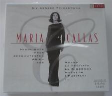 Neuf Emballé Maria Callas Rare 3- CD Coffret Allemand Importation