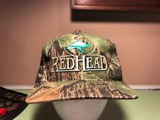 ec05c953 Red Head Mesh Snapback Hat Cap Camo