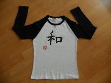 """Junior T-shirt m. Kalligraphie""""Harmonie""""Spirit von Japan vom Meister gefertigt"""