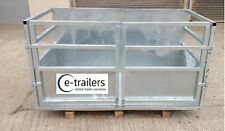 6FT Galvanised 3 Point Link Tractor Stock Farming Agricultural Box Price inc VAT