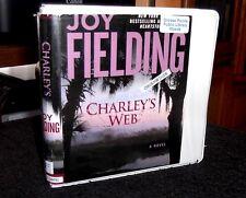 Charley's Web A Novel by Joy Fielding / Susan Ericksen Unabridged Audiobook CDs