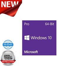 Microsoft Windows 10 Professional 64-bit Anglais 1 PACK OEM