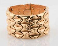 Yellow Gold No Stone Retro Fine Jewellery (1940s)