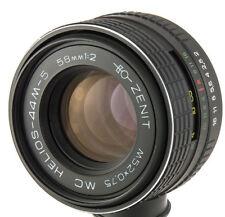 Helios-44M-5 MC 58mm 50mm f2.0 USSR lens M42 Pentax Praktica Zenit biotar 50/2