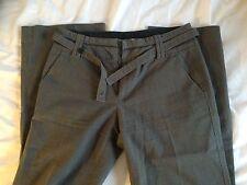 Pantalon Tailleur Habillé Travail Rayures Comptoirs Des Cotonniers Taille 34