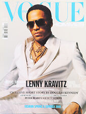 Lenny Kravitz VOGUE HOMMES S/S 2006 fashion celebrity monthly