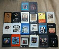 LOT of 8 Tracks: 20 total for Arts, Crafts, Decor, Parts or Repair