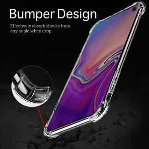 For Samsung Galaxy S21 ULTRA S20 FE S10+ case Shockproof Protective Clear Case