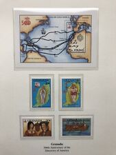 Granada 1992 Stamps, Discovery Of America, Columbus MNH