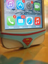 NOVELTY - SUPER HERO - SILICONE UNDERWEAR THONG HOME BUTTON FOR IPHONE 4 & 5