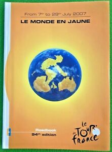 Rare - Official 2007 Tour de France ROADBOOK (English version) started in LONDON