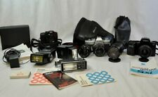 Lot of Cameras, Lenses and Equipment Various Brands (WME)