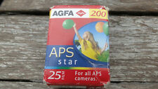 AGFA AGFACOLOR APS 200 25 EXPOSURES CAMERA FILM ROLL