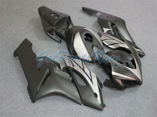 Injection Matte Black Silver Fairing Fit For Honda CBR1000RR 2004-2005 ABS  t32