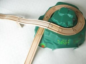 MOUNTAIN TUNNEL & TRACK for THOMAS & FRIENDS WOODEN RAILWAY fits BRIO TRAIN SET