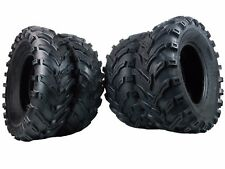 "4 New (2x) 25x8-12 (2x) 25x10-12 MS MASSFX TIRE SET ATV TIRES 6 PLY 25"""