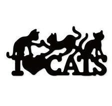 Love Cats Metal Cutting Dies Scrapbooking Cuts DIY Card making stencil Embossing