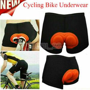 Men 3D Gel Padded Bicycle Cycling Bike Underwear Soft Short Pants Riding Shorts