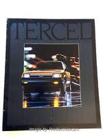 1983 Toyota Tercel 28-page Original Car Sales Brochure Catalog - 4wd Wagon