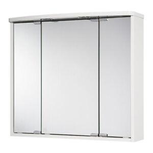Spiegelschrank Badschrank Jokey LED Lumo Badspiegel Spiegel 3-türig Licht+Dose