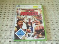 TNA Impact Total Nonstop Action Wrestling für XBOX 360 XBOX360 *OVP*