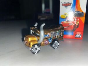 Disney Pixar Cars Mini Racers SERIES 5 - METALLIC Miss Fritter CHASE