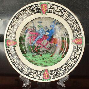 "Royal Doulton KING ARTHUR'S KNIGHTS Series 10.5"" Rack Plate D2961 D3120"