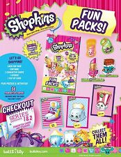 SHOPKINS SERIES 1 & 2 TRADING CARD DISPLAY CASE - 12 BOXES - HOBBY EXCLUSIVE