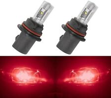 LED 30W 9004 HB1 Red Two Bulbs Head Light Replace Lamp Show Use Off Road