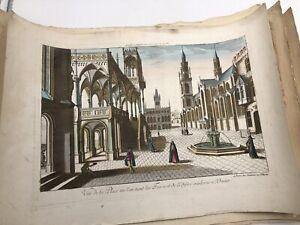 Place où l'on tient les Foires et de l'Édifice moderne à Venise [circa 1790],