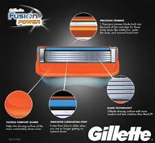 2x Gillette Fusion POWER Razor Shaving Blades (16 Cartridges) RRP$83 GENUINE
