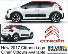 New 2017 Citroen Logo Autocollants Graphics decals c1 c3 c4 Cactus Picasso bagde