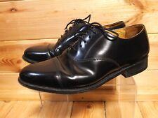 Men's Jones Minty Black Leather Oxford Shoes UK 7