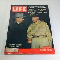 VTG Life Magazine: Feb 13 1956 - Harry Truman & Douglas McArthur at Wake Island