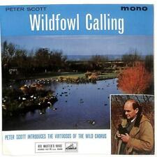 "Peter Scott , Peter Duddridge - Wildfowl Calling - 7"" Vinyl Record EP"