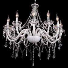 12-flammig Leuchte Kronleuchter Lüster Deckenleuchte Hängeleuchte Lampe Glas