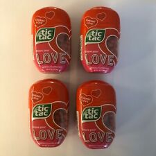 Tic Tac Cherry Love Flavor. Four (4) 200 count packages Expires 01/05/21