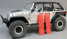 AXIAL SCX10 Jeep Honcho Deadbolt Scale RECOVERY RAMPS Extraction LADDER Red