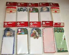 CHRISTMAS MAGNETIC LIST PADS  70/80 Sheets  Assorted Titles  {Your Choice}