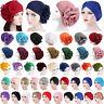 Women Hair Wrap Cancer Chemo Cap Hijab Muslim Turban Inner Hat Beanie Head Scarf
