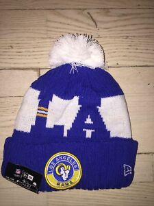 Los Angeles Rams LA New Era Winter Hat Beanie 2020